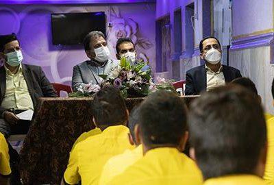 بازدید معاون قضایی رئیس کل دادگستری استان گیلان به همراه تعدادی از مسئولان قضایی استان از زندان لاهیجان